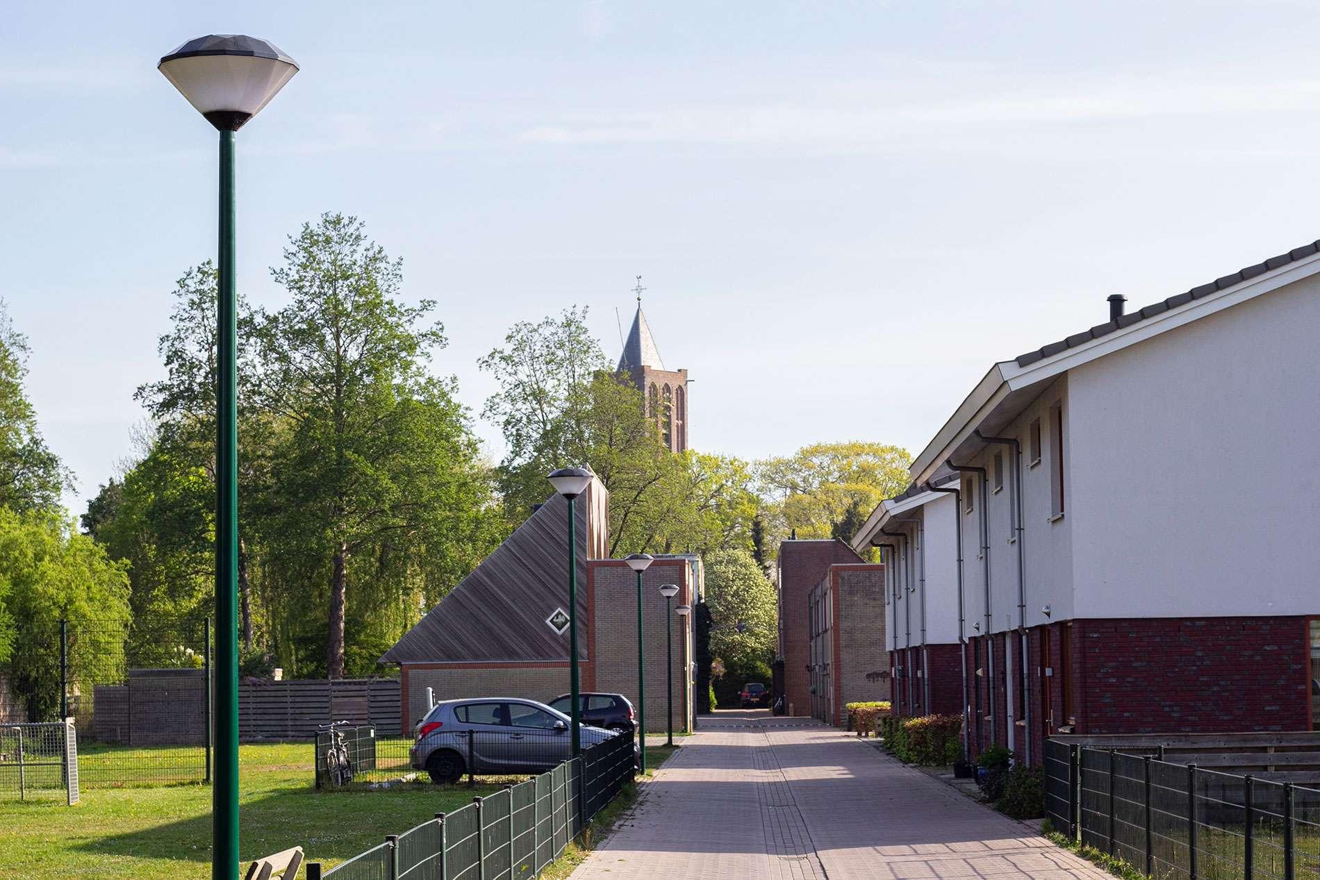 Straatverlichting Westbroek