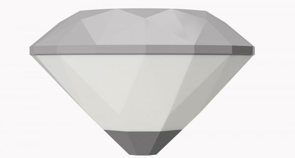Strapitec Diamond armatuur Glossy grijs