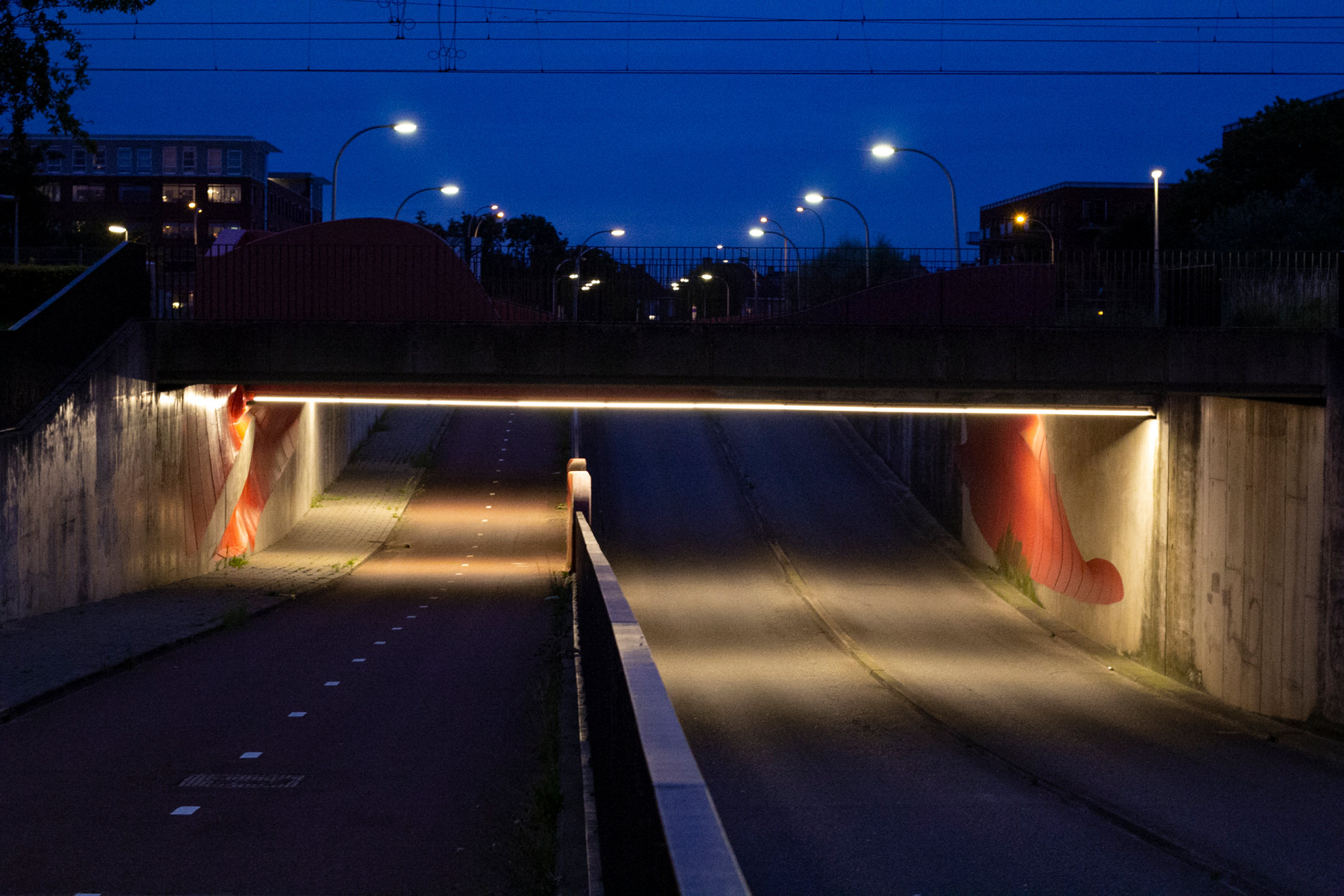Pijnacker tunnel verlichting